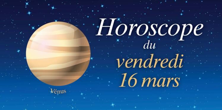 Horoscope du vendredi 16 mars par Marc Angel