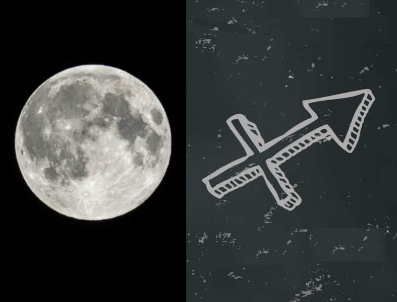 La Lune Noire révèle votre face cachée : en Sagittaire