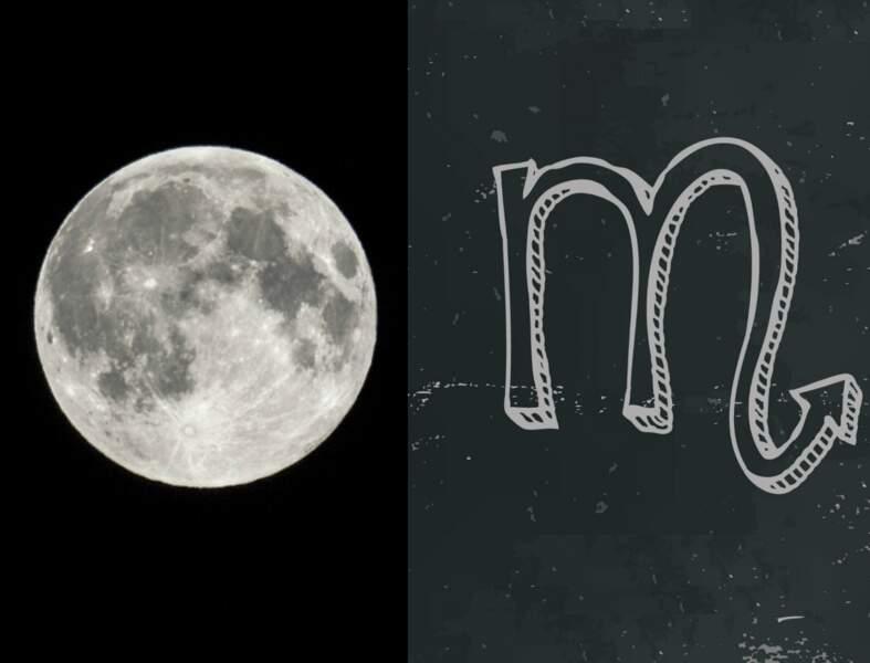 La Lune Noire révèle votre face cachée : en Scorpion