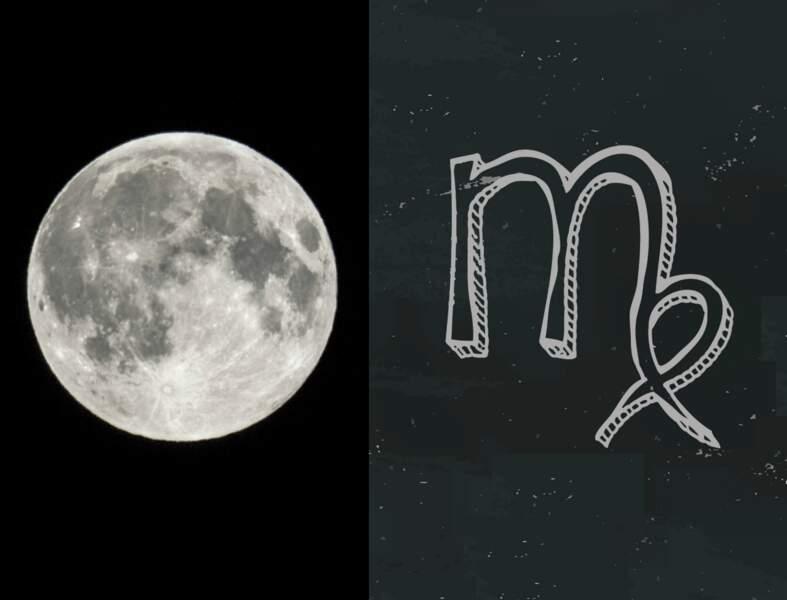 La Lune Noire révèle votre face cachée : en Vierge