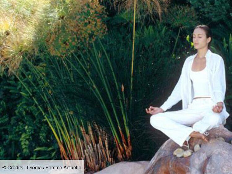 Un jardin Feng Shui - L\'équilibre du Yin et du Yang : Femme ...