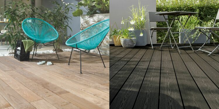 Pour ma terrasse : bois massif ou composite ?
