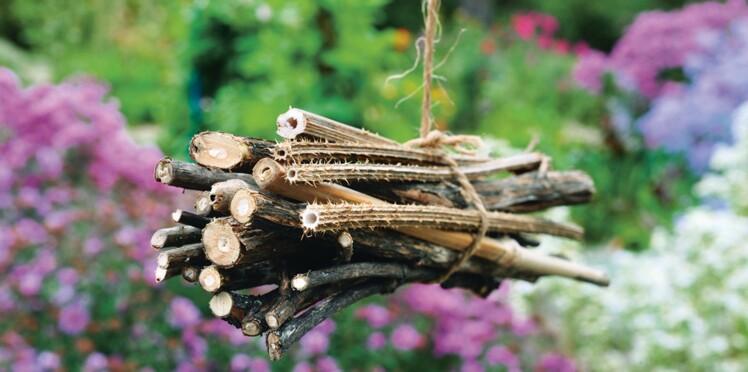 Insectes et auxiliaires de jardin : les abris pour les protéger