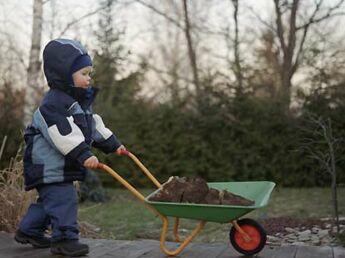Le jardinage expliqué aux enfants