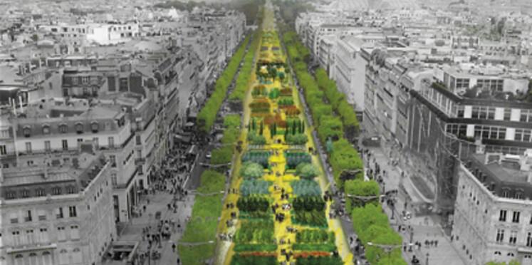 Les Champs-Elysées en fleur ce week-end
