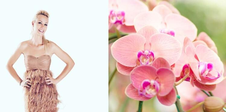 Elodie Gossuin, nouvelle ambassadrice française des orchidées