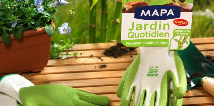 Gants de jardinage à petit prix