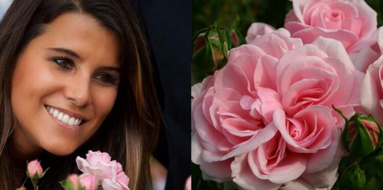 Karine Ferri : une rose à son nom