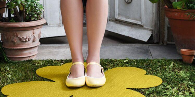 Un tapis porte bonheur pour le jardin