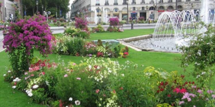 Villes fleuries françaises élues par l'Europe