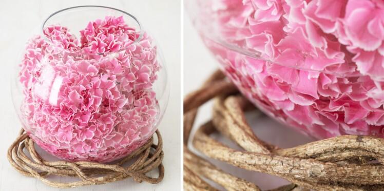 Art floral : comment faire une boule d'hortensias