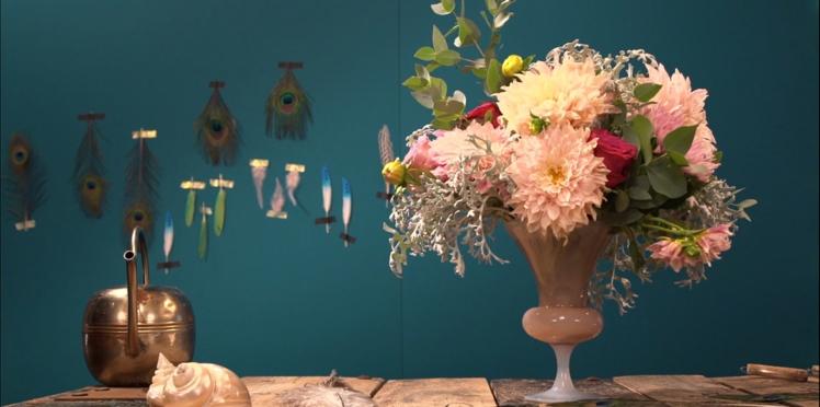 Comment faire un bouquet de Dahlia comme les pros ?