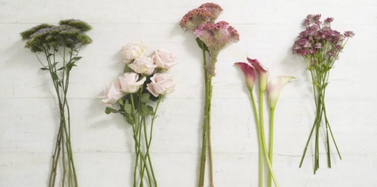 4 tutos pour faire une composition florale femme actuelle le mag. Black Bedroom Furniture Sets. Home Design Ideas