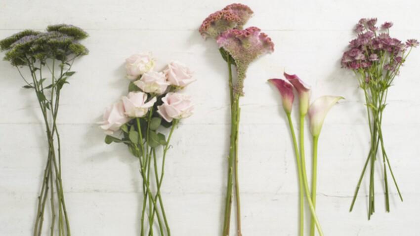4 tutos pour faire une composition florale