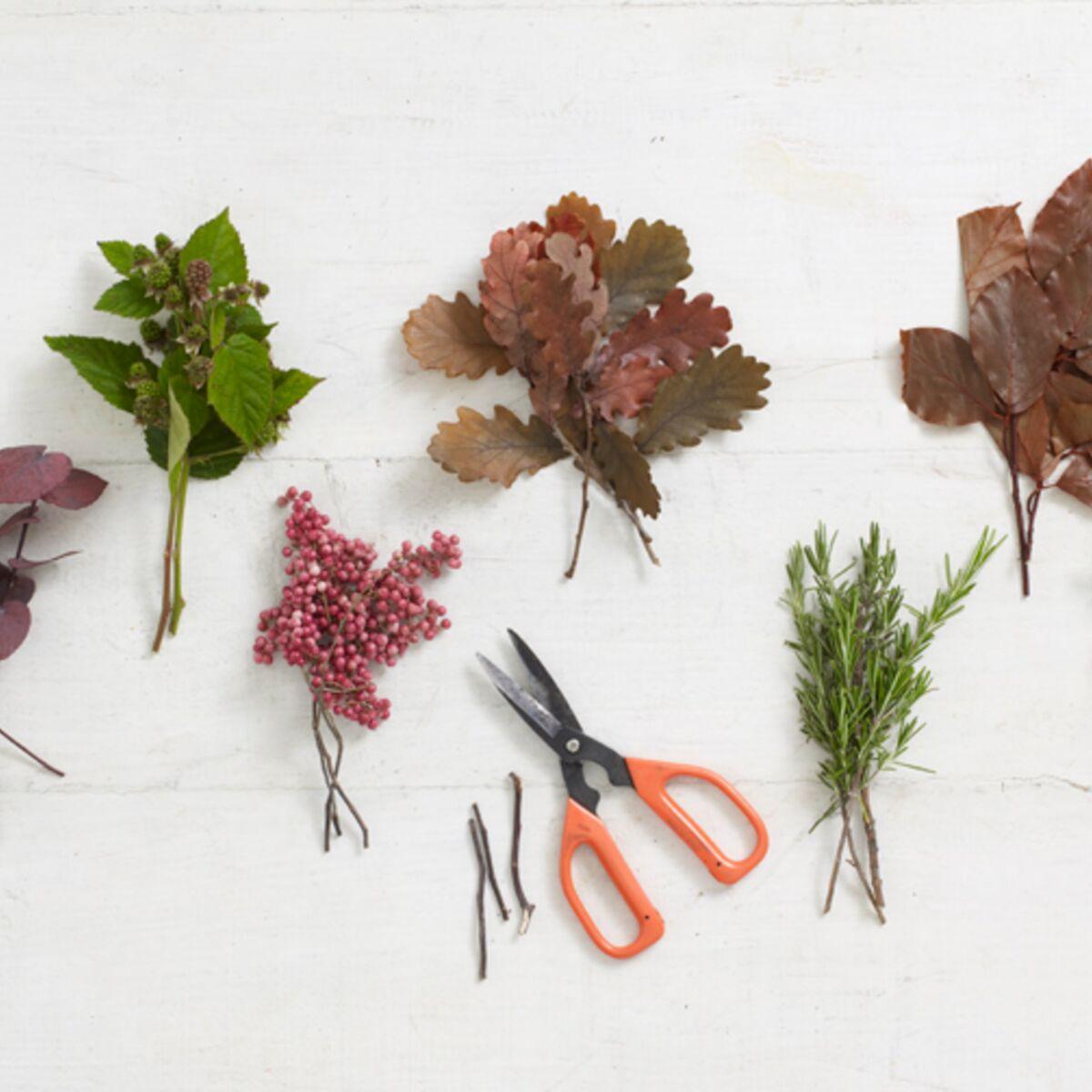 Ou Acheter De La Mousse Pour Piquer Des Fleurs compositions florales d'automne-hiver : 7 tutos faciles à