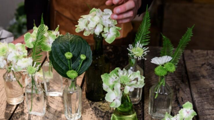 DIY : comment réaliser un bouquet d'hortensias original