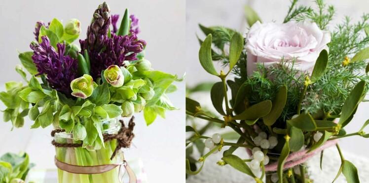 Gui, jacinthe, amaryllis... 5 idées de bouquets hivernaux