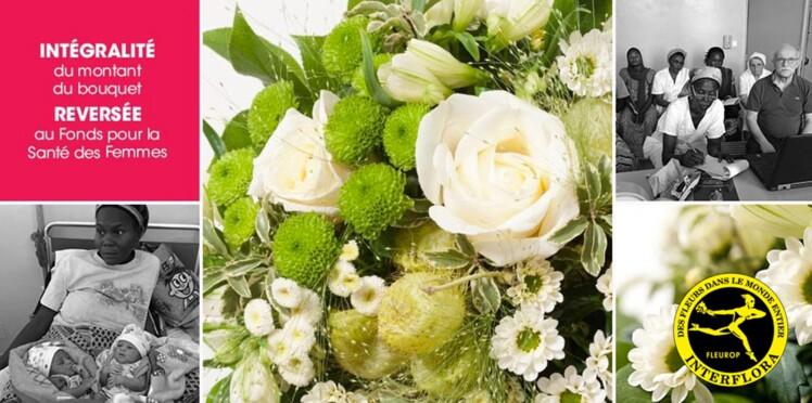 Interflora soutient le droit des Femmes avec un bouquet solidaire