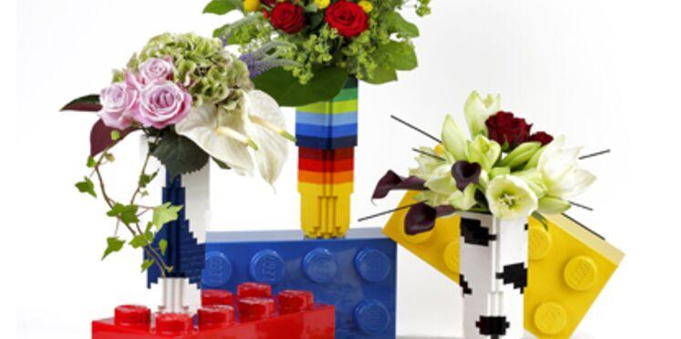 Des vases en Lego !