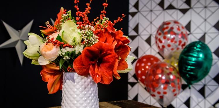 Vidéo : un bouquet d'Amaryllis comme les pros