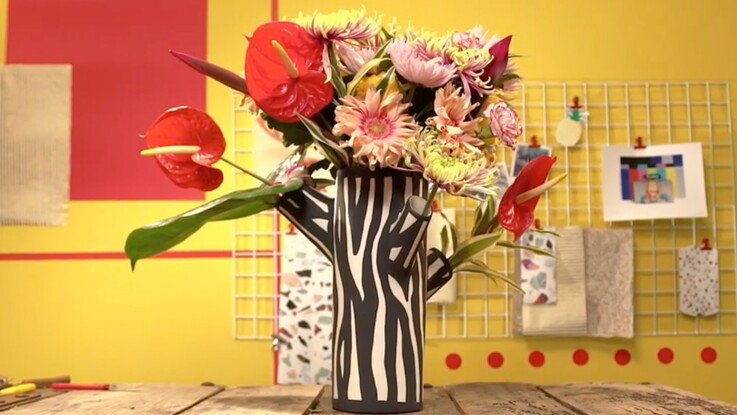Video Comment Faire Un Elegant Bouquet Avec Des Chrysanthemes