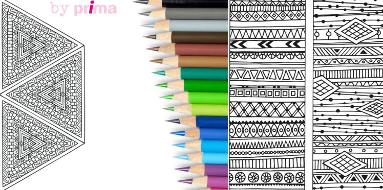 Coloriages indiens et aztèques à imprimer