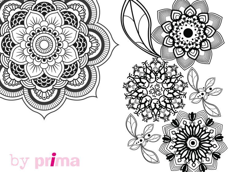 Coloriage Gratuit Imprimer Mandala.Mandala Et Coloriage Fleur A Imprimer Femme Actuelle Le Mag