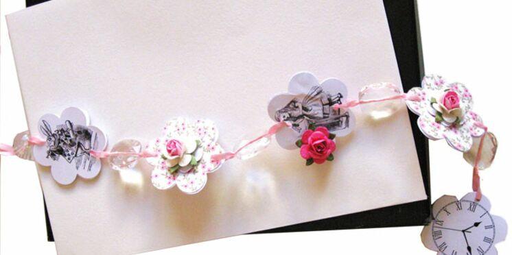 Fabriquer une jolie guirlande décorative