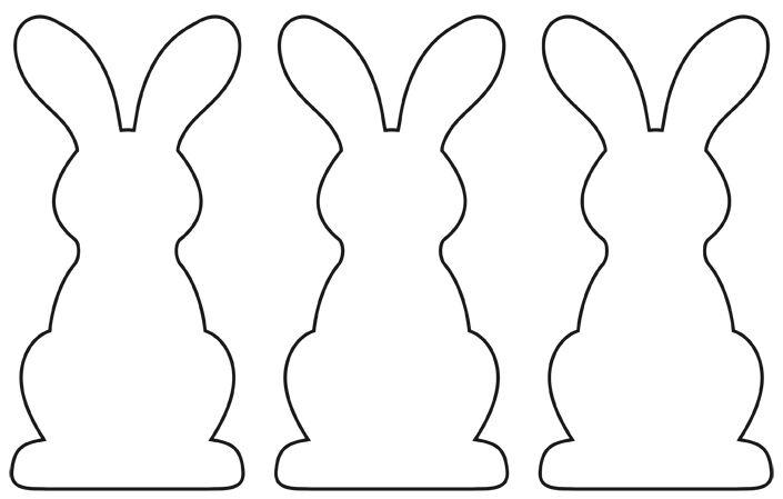 Coloriage Paques Guirlande.Une Guirlande De Lapins En Papier Pour Paques Femme Actuelle Le Mag