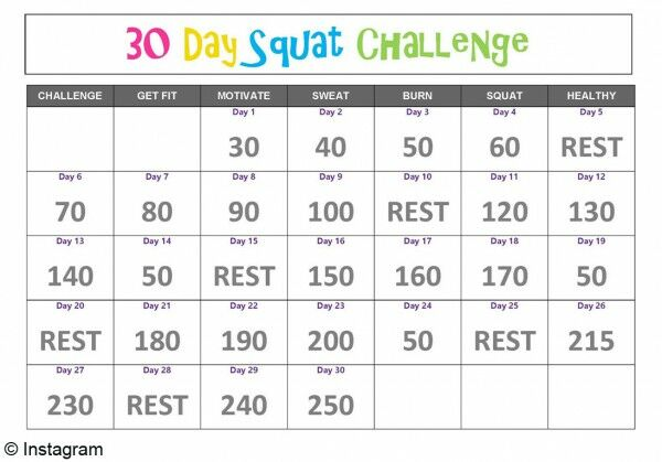 j ai test le 30 days squat challenge pour maigrir des cuisses c est quoi femme. Black Bedroom Furniture Sets. Home Design Ideas