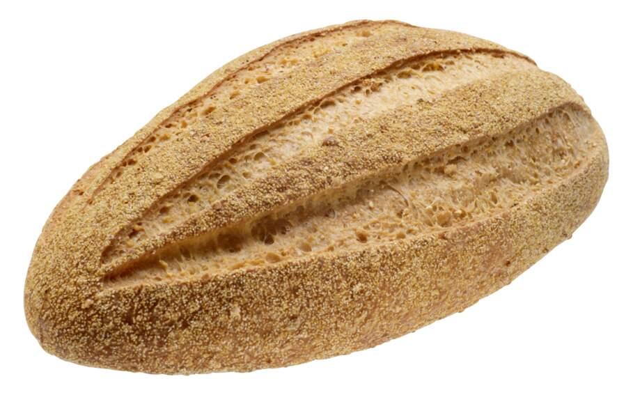 Le pain complet est moins calorique que le pain blanc