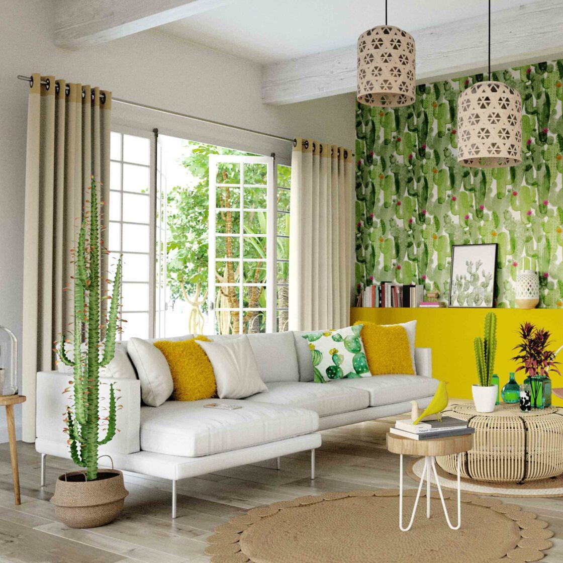 Deco Chambre Style Exotique tendance exotique : place aux tropiques dans la déco : femme