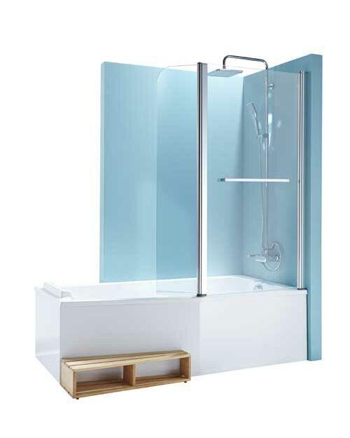 Baignoire douche : le 2 en 1 dans la salle de bains : Femme ...