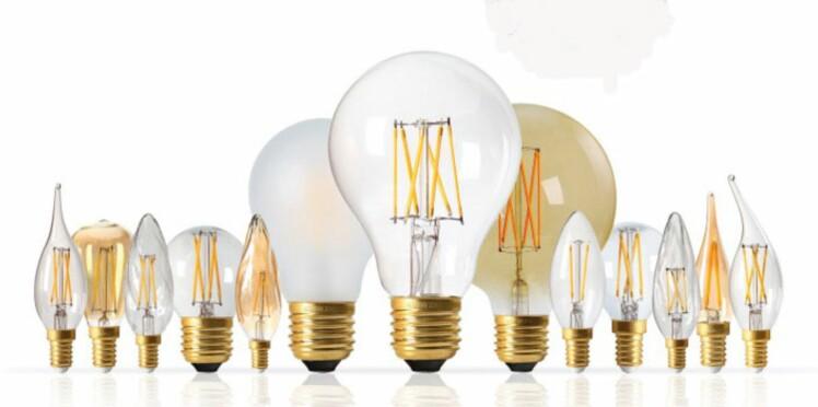 Ampoules à filaments : LED mais pas laides !