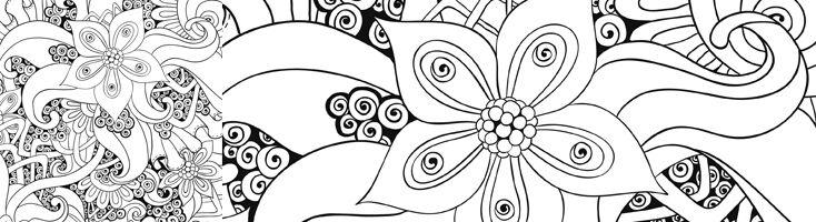 Mandala Et Coloriage Fleur A Imprimer Femme Actuelle Le Mag