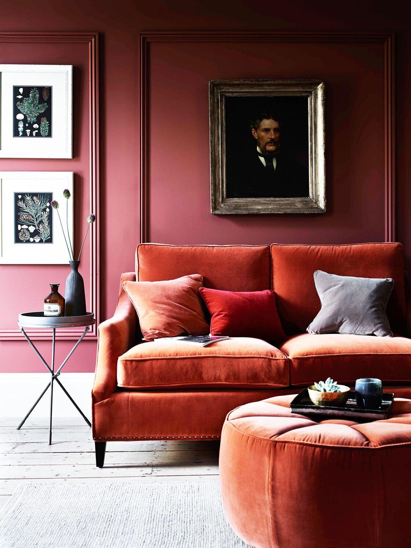 Salon rouge : 15 idées de décoration et nos accessoires coup de