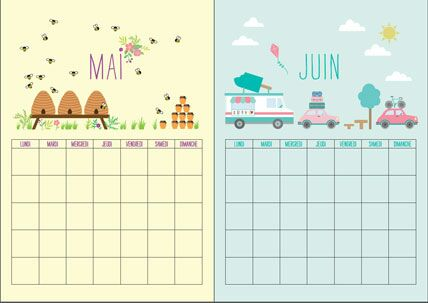 gratuit notre calendrier perp tuel imprimer femme actuelle le mag. Black Bedroom Furniture Sets. Home Design Ideas