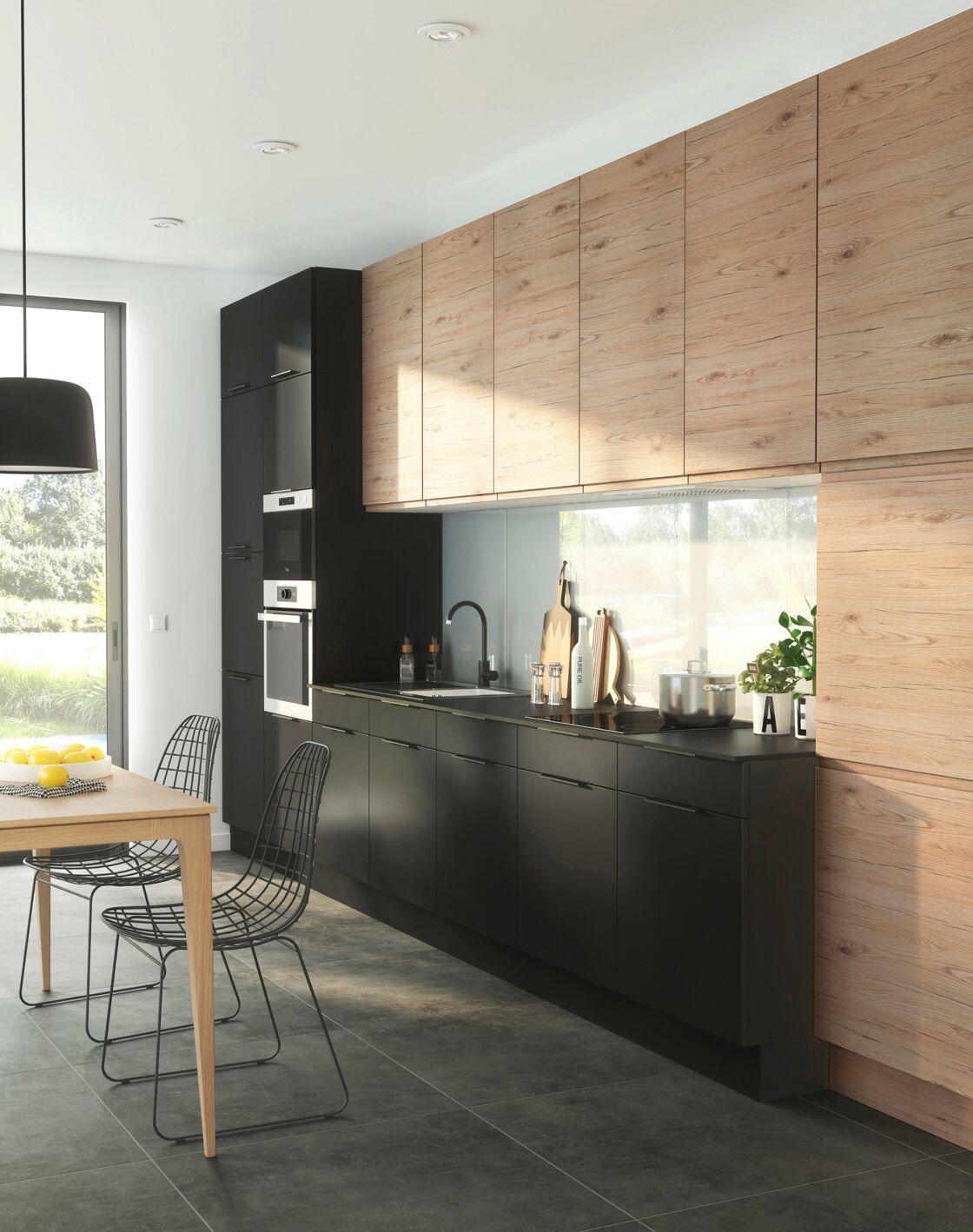 D co de cuisine vintage en couleur en bois quel style adopter femme actuelle le mag - Cuisine 2 couleurs ...