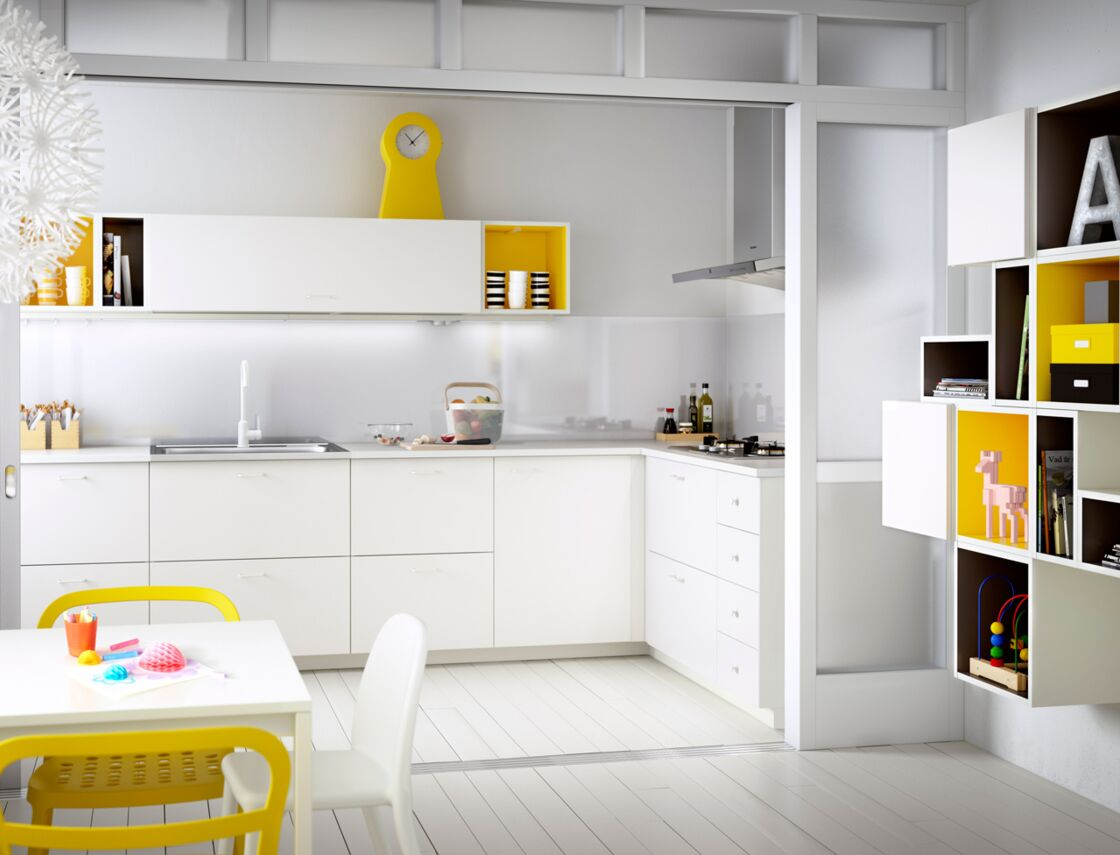 Meuble Petite Cuisine Ikea cuisine aménagée : comment faire baisser la facture ?