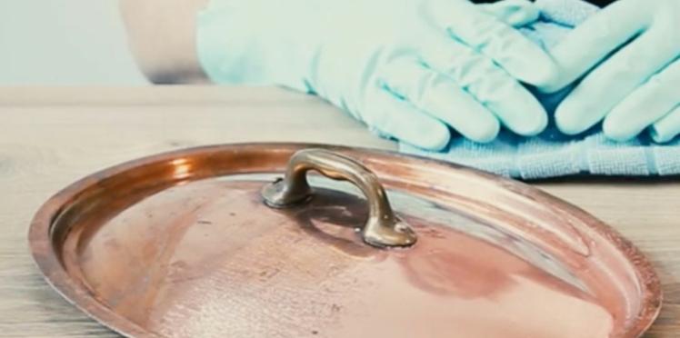 Comment nettoyer le cuivre naturellement ?