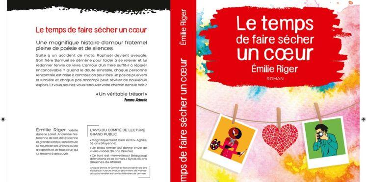 """Emilie Riger: Prix du roman Feel Good 2018 de Femme Actuelle pour """"Le temps de faire sécher un coeur"""""""