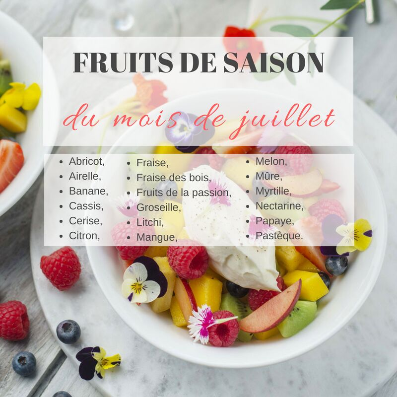 Fruits et légumes de saison : que cuisiner en juillet ? : Femme Actuelle Le MAG 3