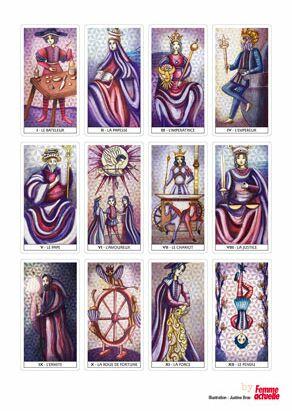 Gratuit   un jeu de tarot de Marseille à imprimer   Femme Actuelle ... 3223ca35f2c5