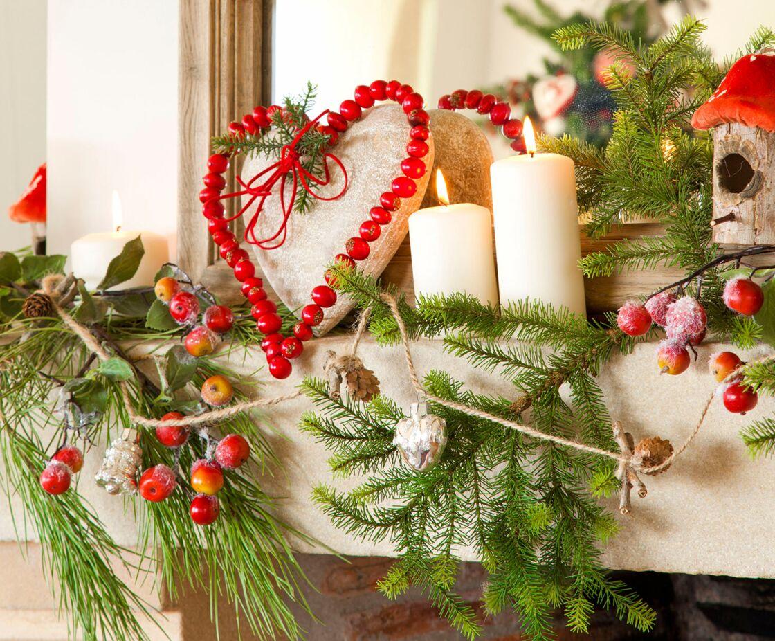 Salon : Une Décoration Lumineuse Pour Noël