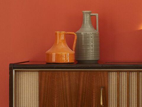 Orange + Orange Clair + Gris + Brun + Taupe
