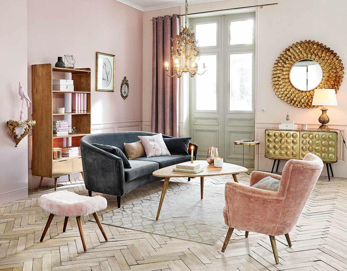 Deco Salon Rose Poudré Et Gris 9 façons d'utiliser les couleurs pastels dans la déco