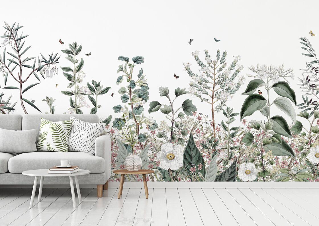 papier peint panoramique comment l 39 adopter femme actuelle le mag. Black Bedroom Furniture Sets. Home Design Ideas