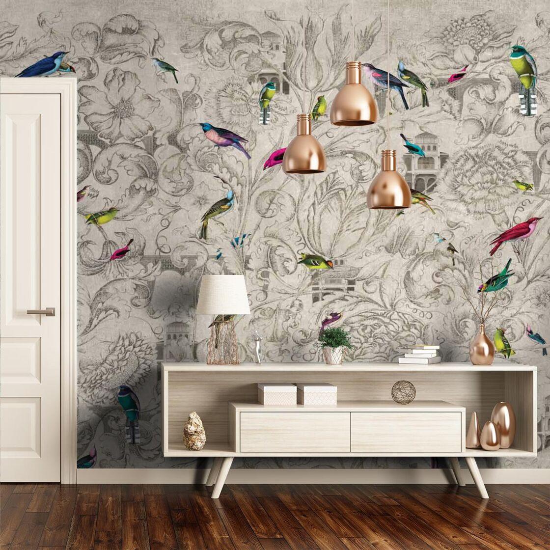 Idee Tapisserie Salle A Manger papier peint panoramique : comment l'adopter ? : femme