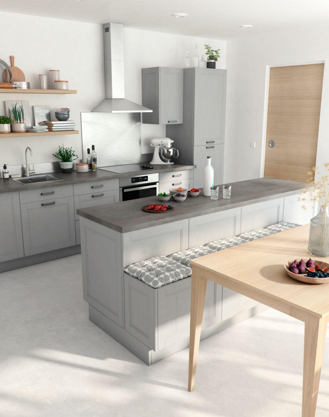 Ilot Central Pour Manger comment bien aménager sa cuisine ? : femme actuelle le mag