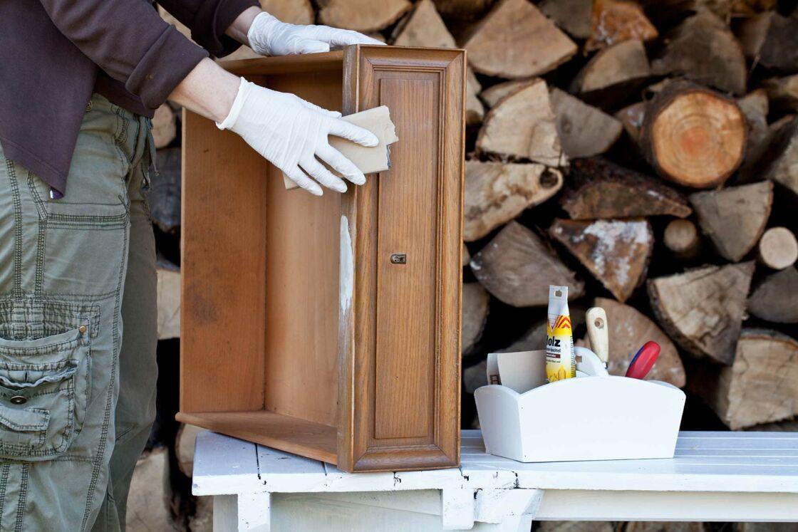 Fabriquer Etagere A Epice diy : comment faire une étagère avec un tiroir en bois